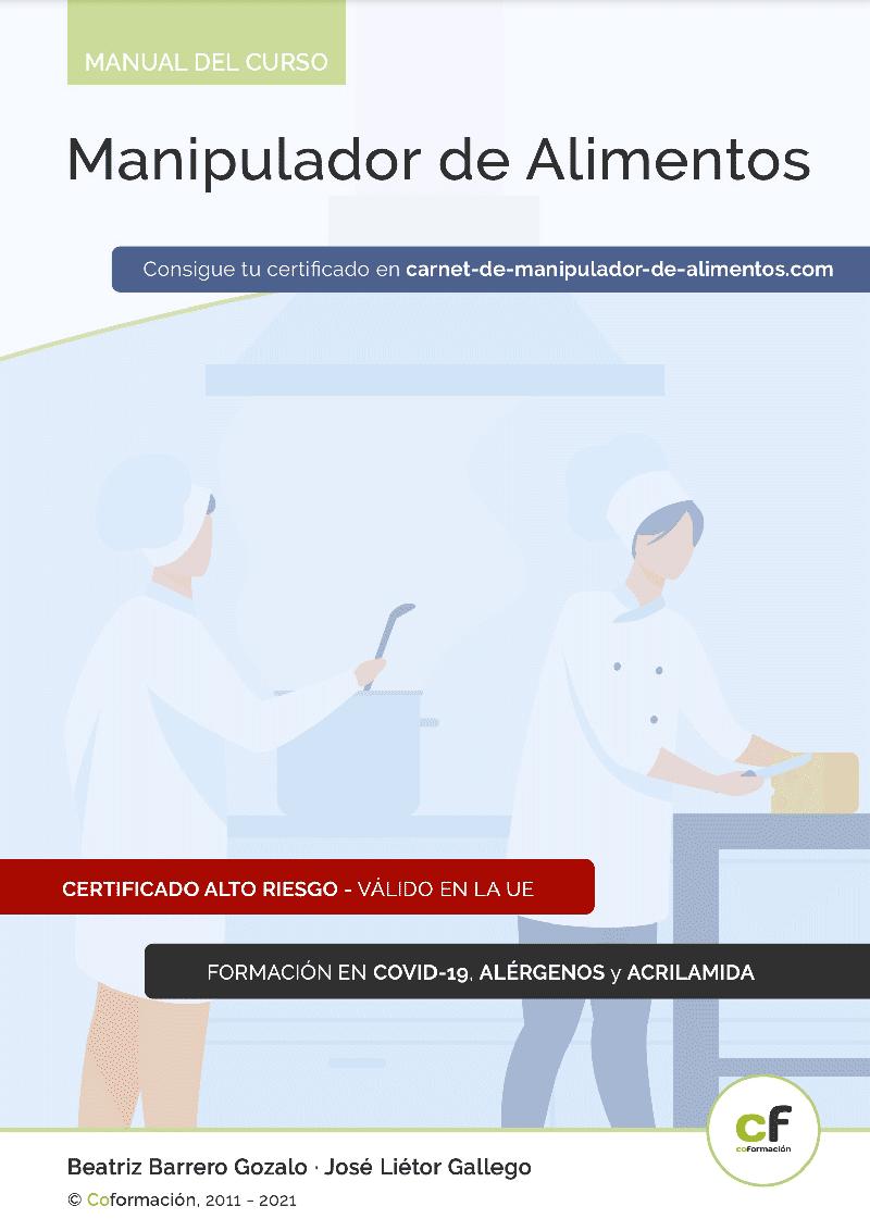 Carnet de Manipulador de Alimentos - PDF